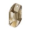 Swarovski Pendant 6673 Meteor 28mm Golden Shadow Crystal